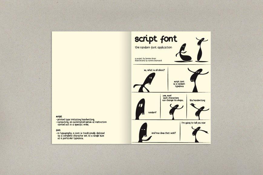 Script font-1
